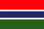 The Gambia Flag