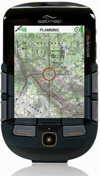 National Geographic maps avaialbe on the Active 10 TREK GPS device