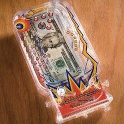 Bilz Pinball Money Maze Game SkyMall Monday