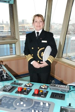 women cruise ship captains