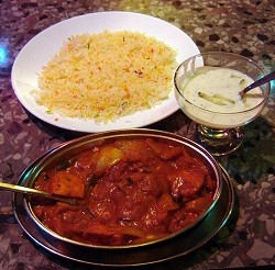 Indian food in London