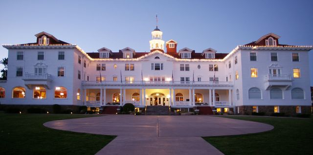 national book month hotels - the stanley hotel stephen king