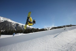 Copper Mountain opens the Superpipe!