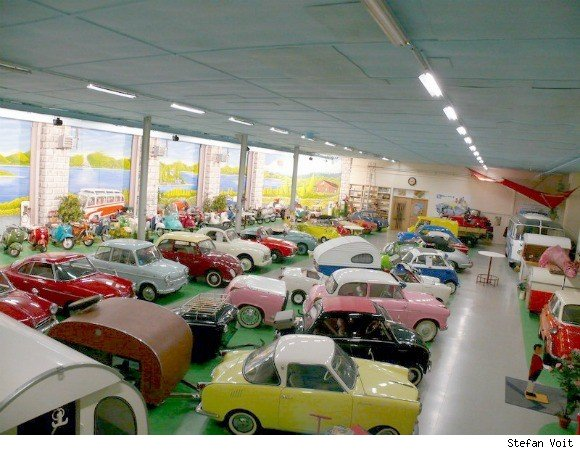 A museum of microcars in Germany