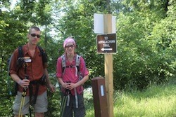 12-year old Reed Gjonnes is hiking the Appalachian Trail
