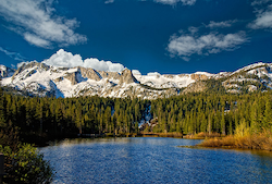 Experience the Sierra Mountains at Mammoth's Tamarack Lodge this Fall.