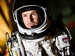 Felix Baumgartner is a Natational Geographic Adventurer of the Year