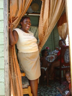 woman in tobago