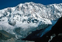 Annapurna, the toughest mountain on Earth, captured on video