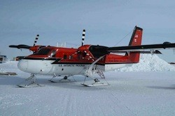 A Twin Otter aircraft like the one missing in the Antarctic