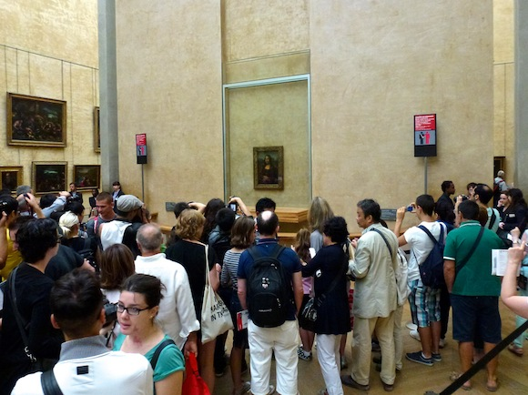 Photo of the day - seeing Mona Lisa