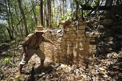 A lost Mayan city is uncovered in Mexico
