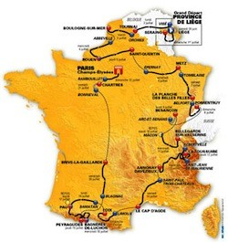 The 2013 Tour de France begins today!