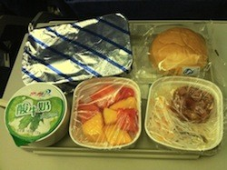 Air China meal food poisoning